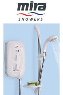 Photograph of a MIRA SPORT shower